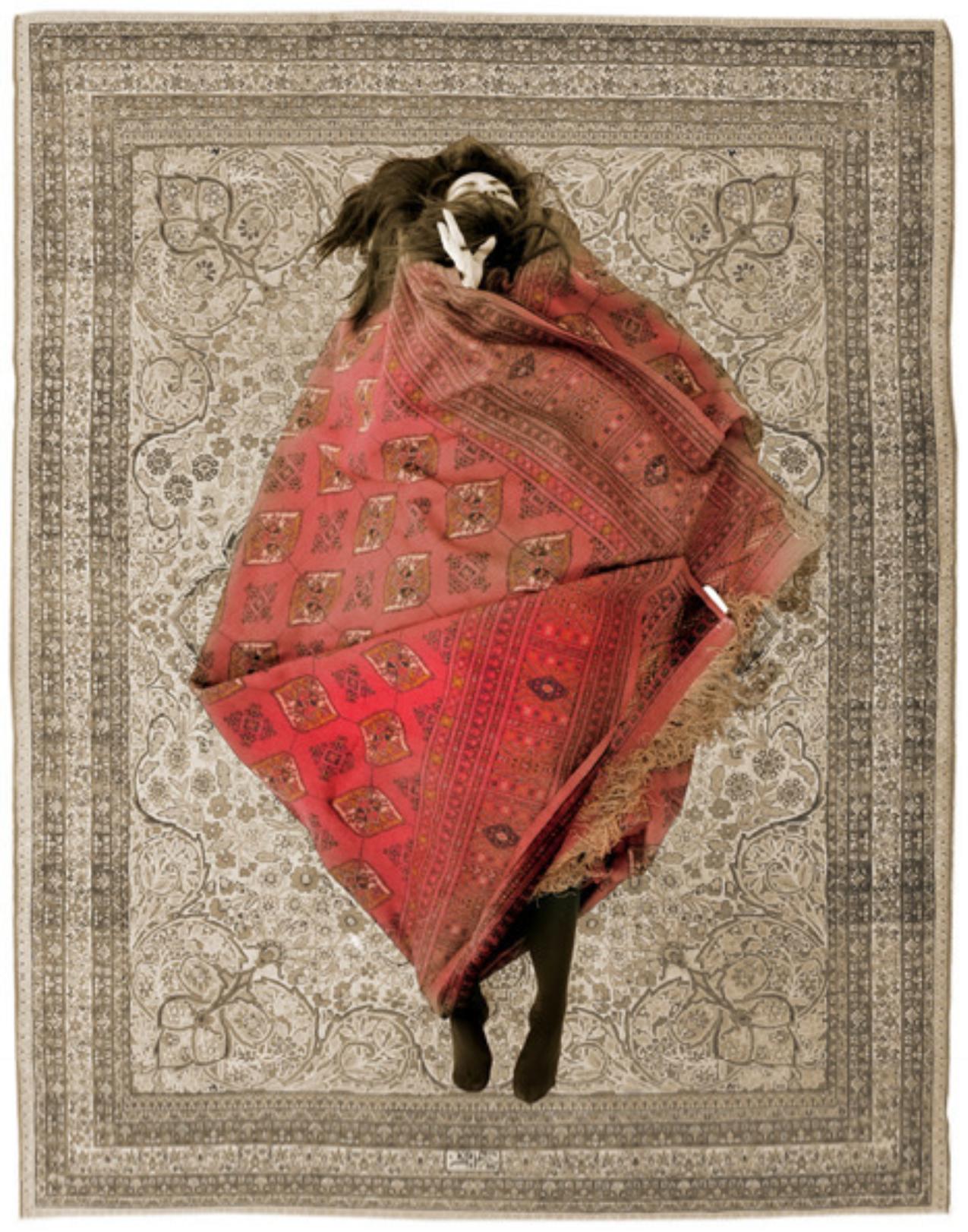 Babak Kazemi, Exit of Shirin and Farhad, c print, 100 x 70 cm, 2012