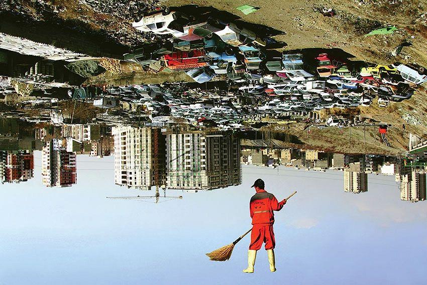 Suspension in Tehran by artclvb Artist Azadeh Akhlaghi