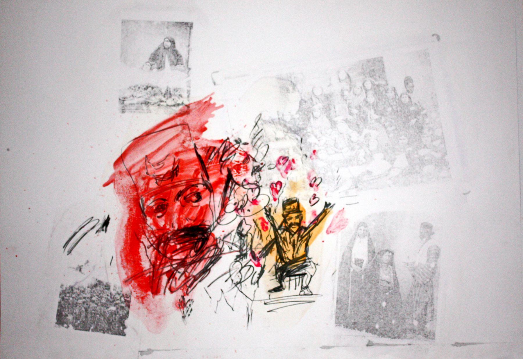 Untitled by artclvb Artist Mostafa Choobtarash