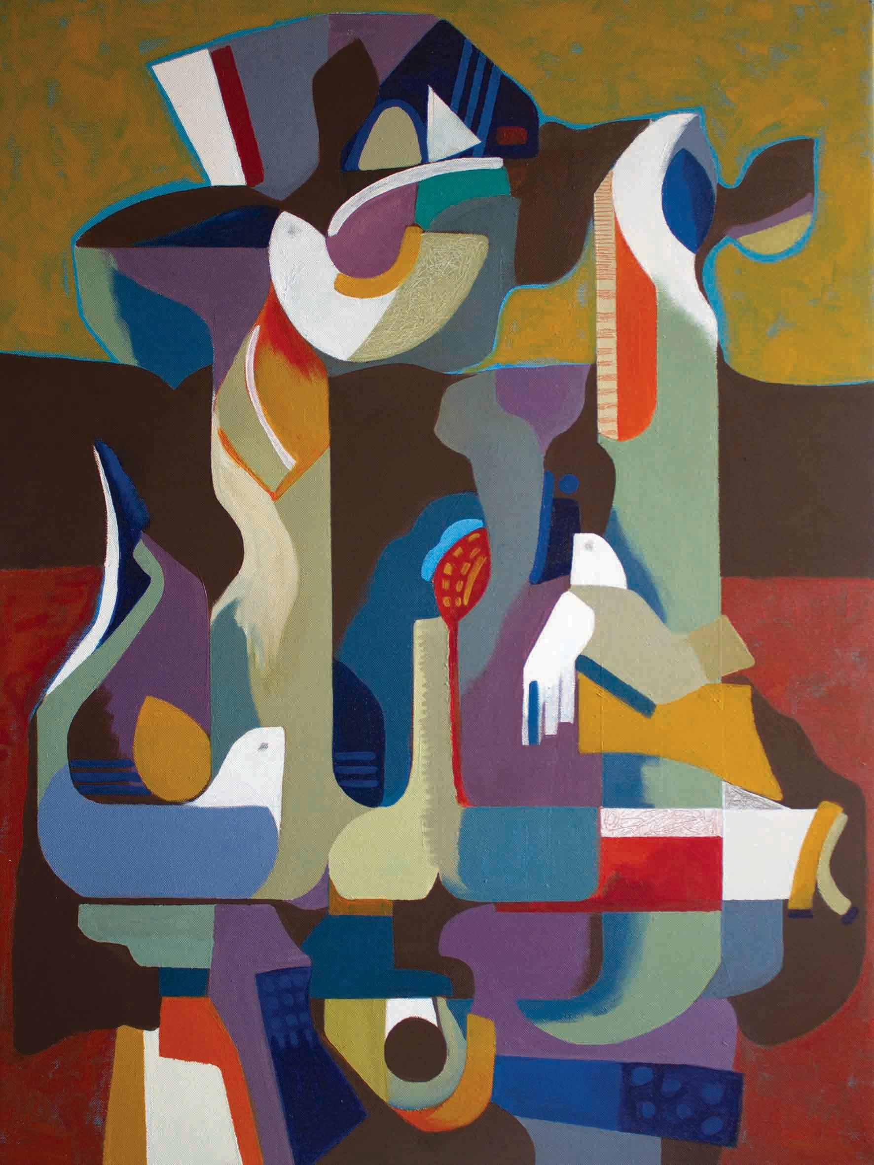 Johar 31 by Iranian/Armenian artist Janet Hagobian