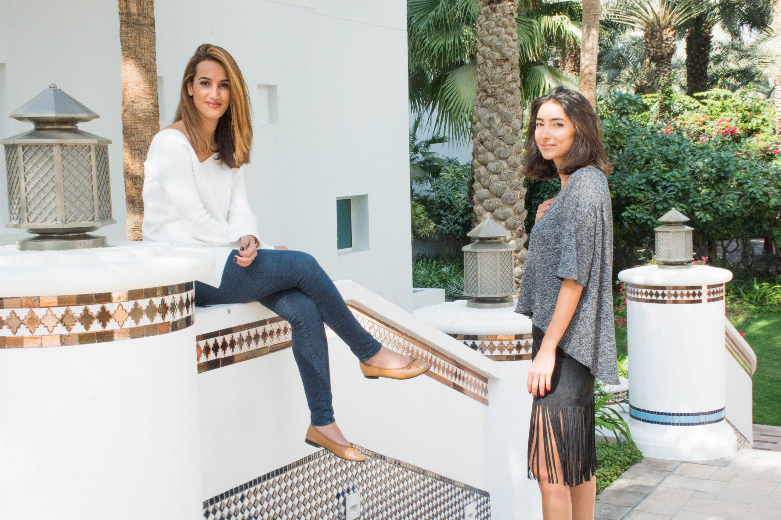 From left to right: Emergeast founders Dima Abdul Kader and Nikki Meftah