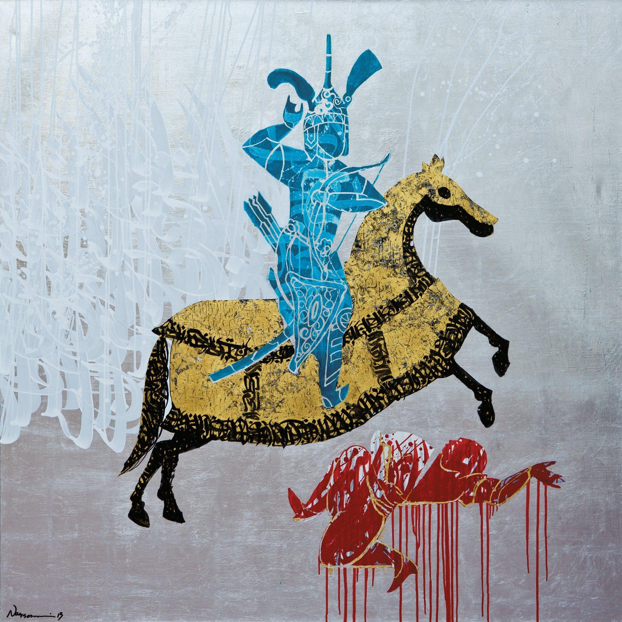Fondation Behnam Bakhtiar.Sasan Nasernia.Triumphant Dressage
