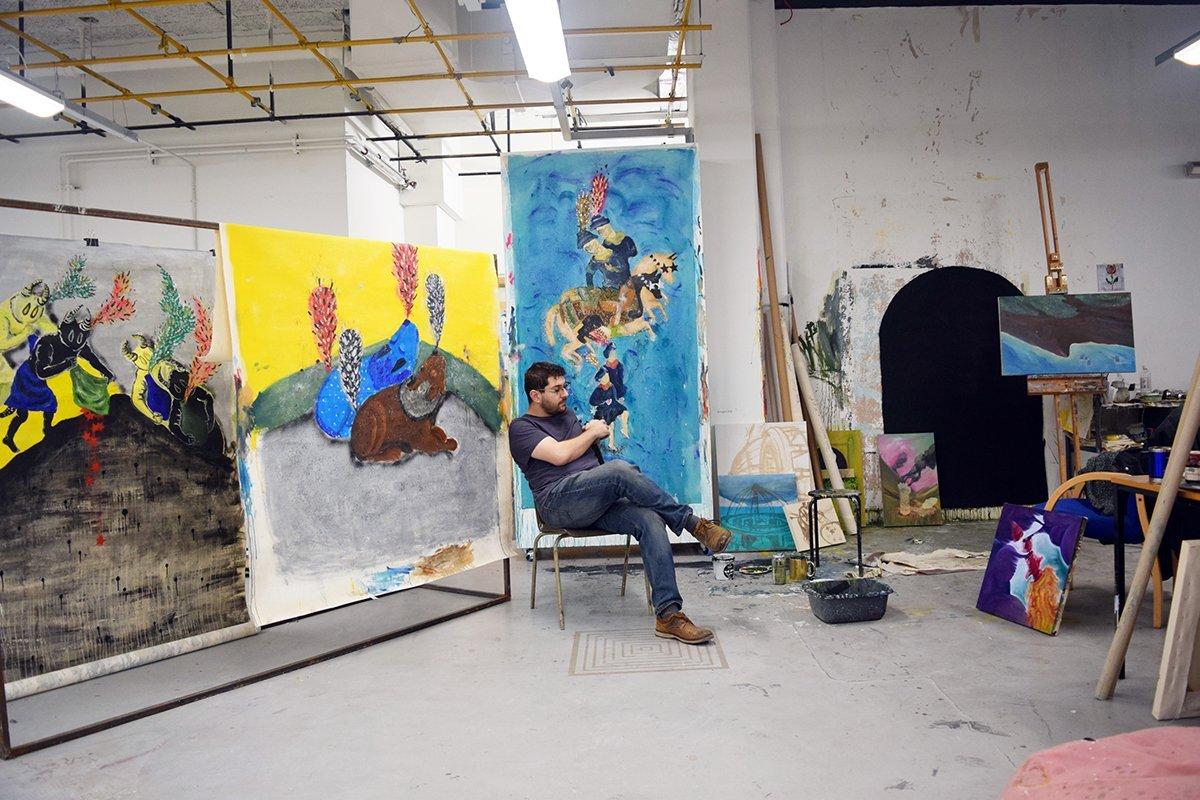 Studio Visit: Ghalamdar
