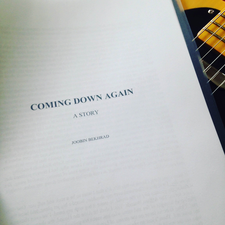 Coming Down Again by Joobin Bekhrad