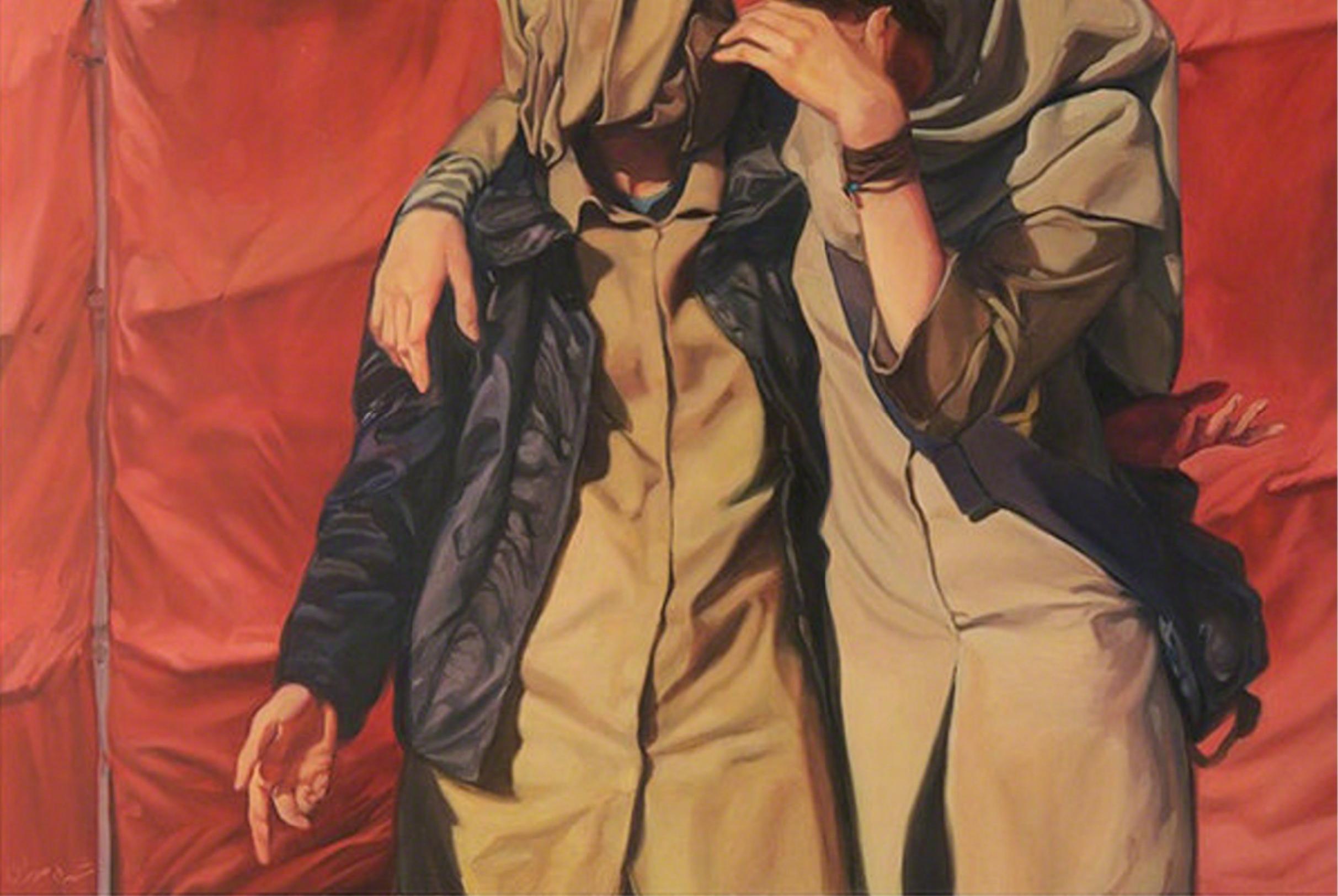Shohreh Mehran, Untitled, oil on canvas, 100 x 150 cm, 2009