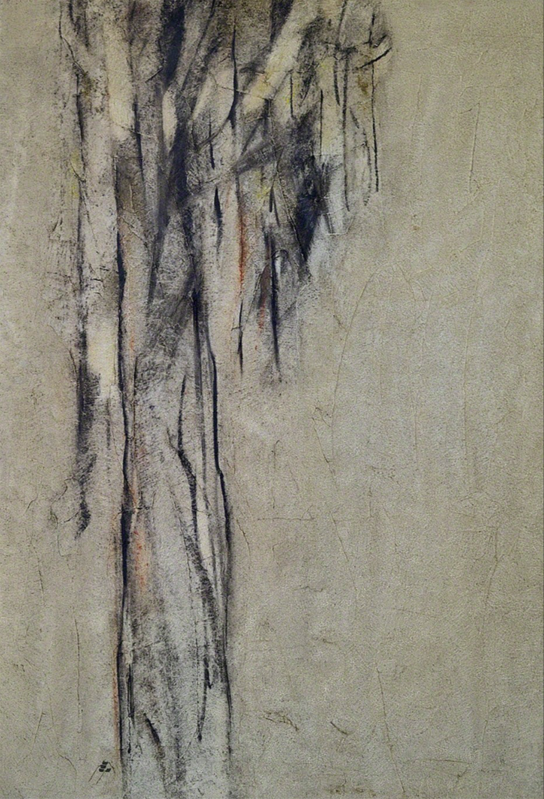 Sohrab Sepehri, Untitled, oil on canvas, 132 x 90 cm, circa 1960